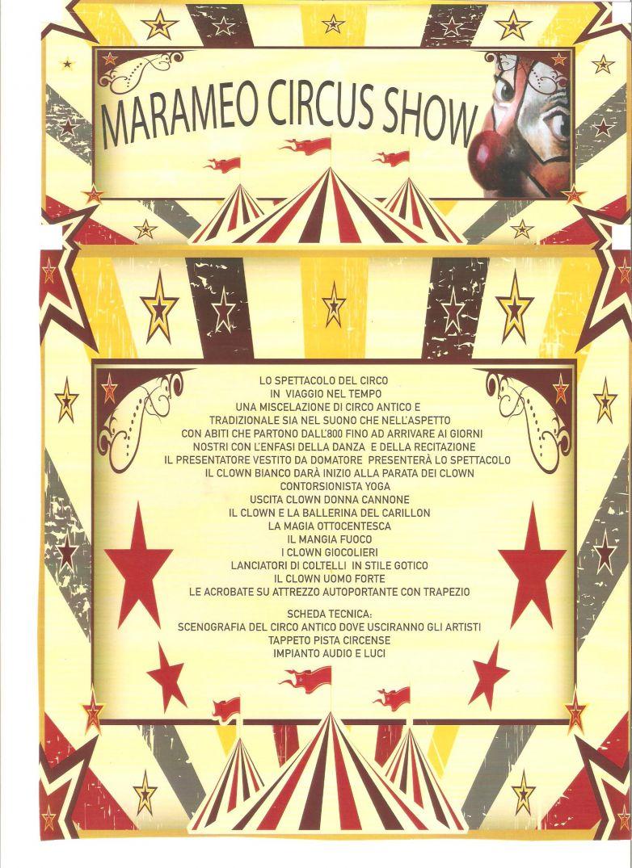 Marameo Circus Show